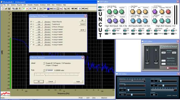 VST host to support Steinberg VST plug-ins